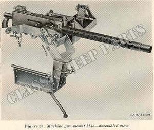 Fäste  för Browning Kaliber .30 på instrumentbräda