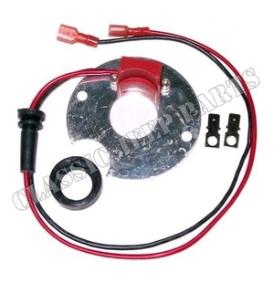 Electronic kit for distributor 6 and 12 volt