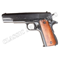 Colt 45 government with wood handle