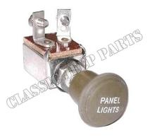 Ljusomkopplare instrumentbelysning