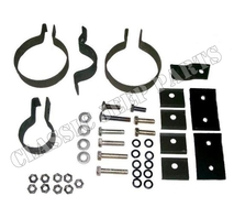 Clamp kit muffler early WILLYS MB FORD GPW