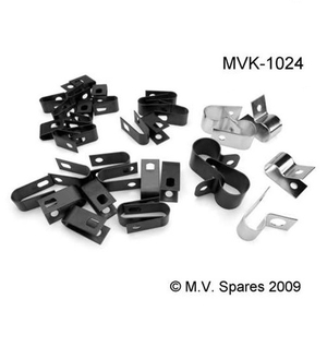 Wiring clips set WILLYS MB