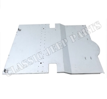 Rear floor pan without shock absorber covers MADE IN ENGLAND