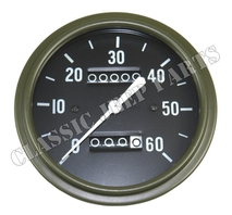 Speedometer miles long pointer early WILLYS MB SLAT GRILL