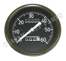 Speedometer miles long pointer early AC style WILLYS MB