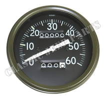 Speedometer miles long pointer early Stewart Warner style FORD GPW