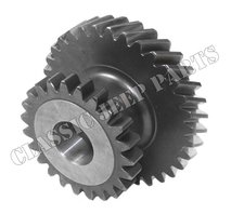 "Intermediate gear 23/33 teeths 3/4"" (19 mm) shaft D18 MADE IN EU"