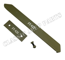 Arm and plate reinforcement for MP50
