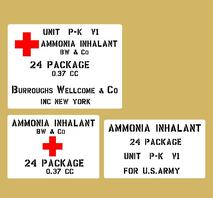 Ammonia Inhalant US Army