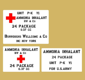 Ammonia Inhalator US Army