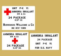 Ammonia Inhalant US Navy