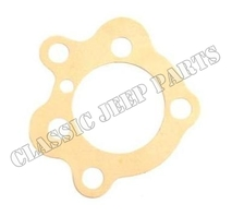 Oil pump gasket to block