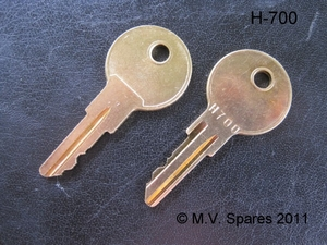 Universal nyckel H700