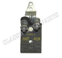 Thermal circuit breaker 30 amp main light switch NOS KLIXON marked