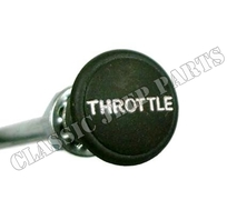 Plastic green trottle knob with wire and cover