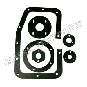 Front floor seal set rubber early
