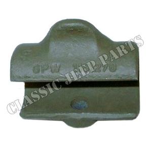"Top bow slide cast bracket 5/16"" FORD GPW"