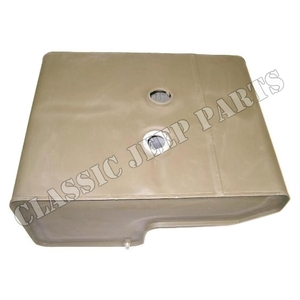 Fuel tank for small cap early  FORD GPW F-script