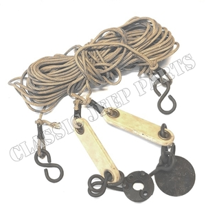 Antenna tie down rope kit NOS