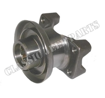 Yoke front propeller shaft to transfer with shield D18