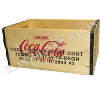 Wooden box Coca Cola