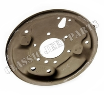"Backing plate brake drum 9"" WILLYS MB CJ2A CJ3A FORD GPW"
