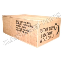 Wooden box Ration C