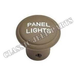 "Knapp instrumentbelysning i zink ""PANEL LIGHTS"""