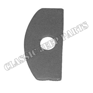 Ignition coil washer D shape