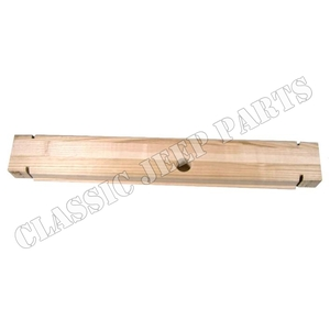 Wood filler front bumper WILLYS MB