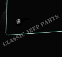 Windshield glass pair FORD GPW FORD-script