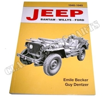 JEEP BANTAM-WILLYS-FORD 1940-1945 Emile Becker 470 sidor
