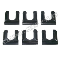 Brake hose spring loc clip set with 6 pcs FORD GPW