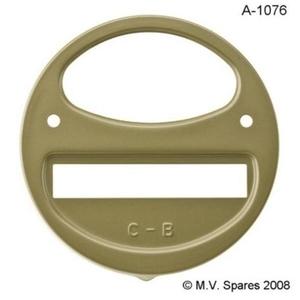 Door tail light left WILLYS MB MBT C-B script