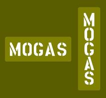 "Schablon reservdunk ""MOGAS"""