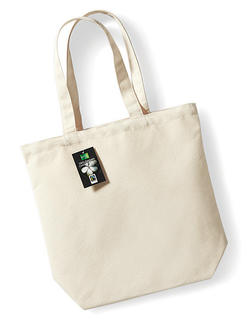 Fair Trade Canvas Shopper, 13 Liter