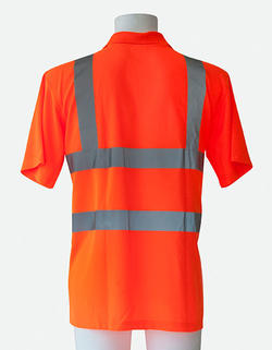 Hi vis Polo Piké shirt  EN471
