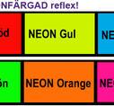 Silhuettbilder SKARP NEON REFLEX
