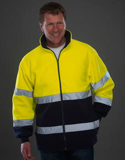 High Vis 2 Bands 2-Tone Jacket Class 2