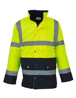 His-Vis 2 färg Motorway Jacket