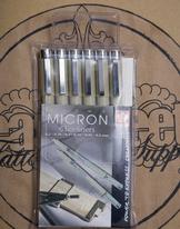 Pigma Micron Pen Set - Fineliners