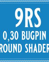 30/9 Bugpin Round Shader Cartridge
