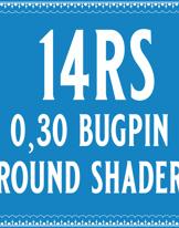 30/14 Bugpin Round Shader Cartridge