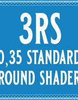 35/3 Standard Round Shader Cartridge