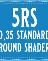 35/5 Standard Round Shader Cartridge
