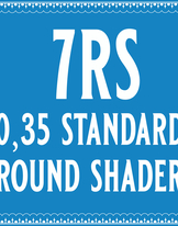 35/7 Standard Round Shader Cartridge