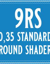 35/9 Standard Round Shader Cartridge