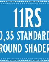 35/11 Standard Round Shader Cartridge