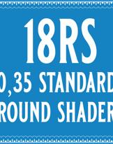 35/18 Standard Round Shader Cartridge