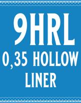 35/9 Hollow Round Liner Cartridge